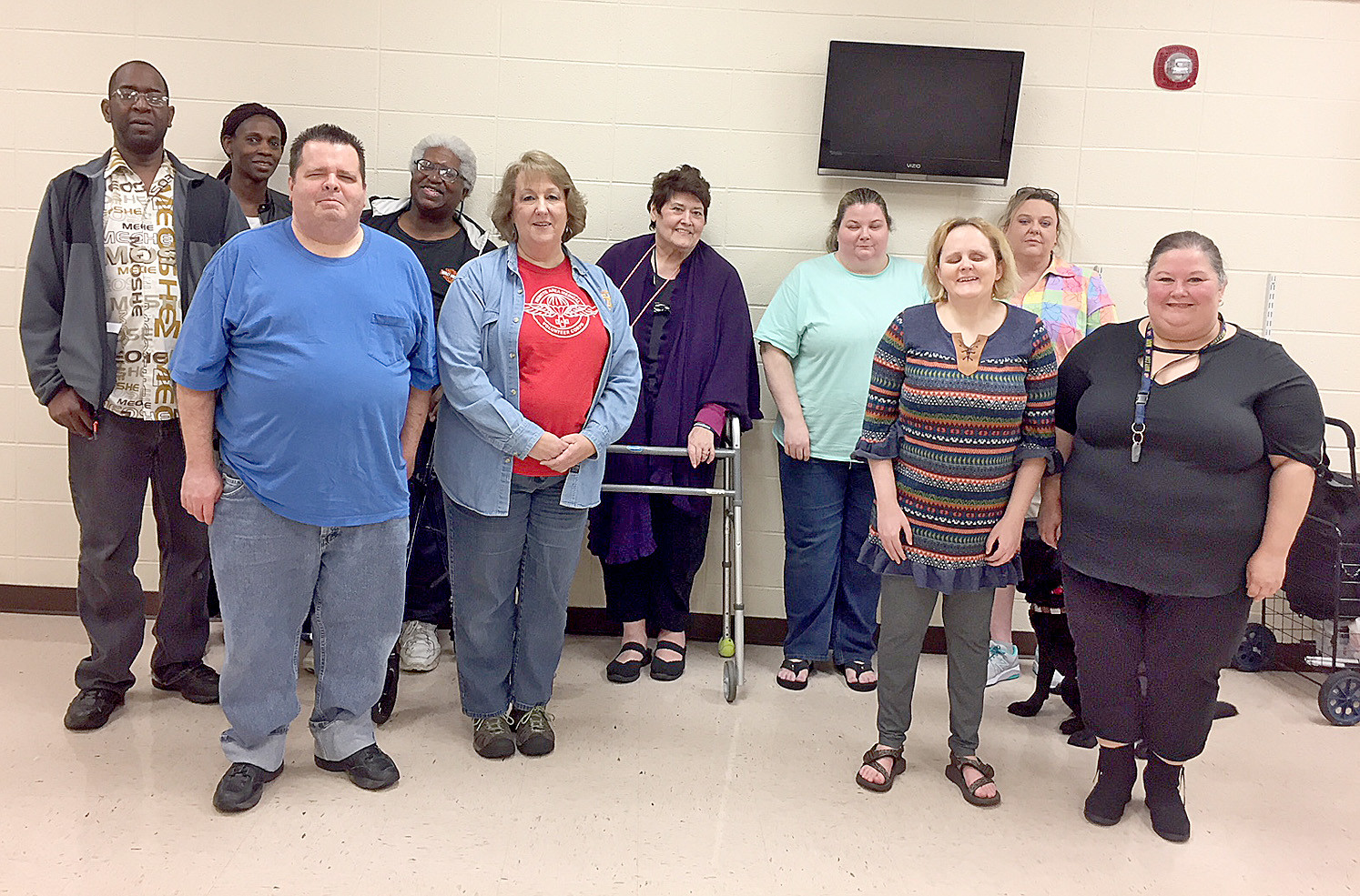Blind Federation Members Hear Athens Lions Program The Cleveland