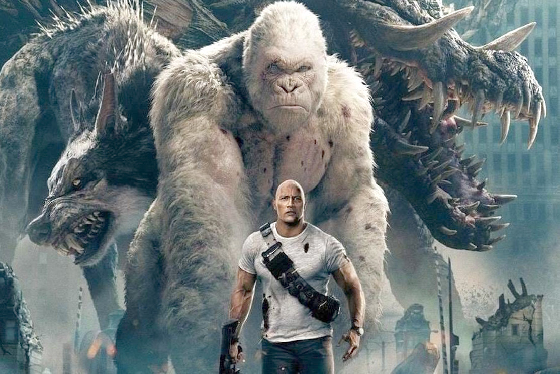 Review Rampage Delivers Chilling Message Amid Entertaining