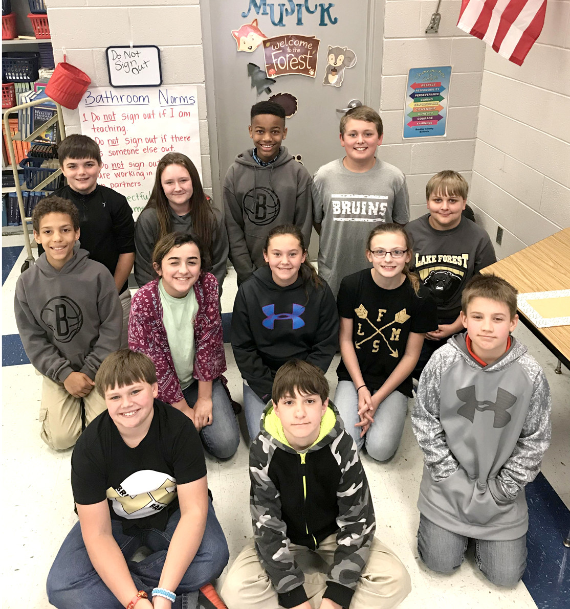Sixth Grade Students Reading Challenge | The Cleveland Daily Banner