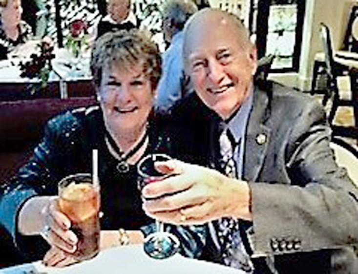 CHUCK AND SHARON GUY are celebrating their 60th wedding anniversary today. They were married May 11, 1958. They plan to return to the site of their honeymoon in Gatlinburg and also visit Disney World with sons, Chip and Stephen.
