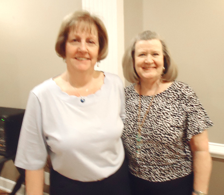 HOSTESSES for the recent meeting of the Ocoee Chapter of the DAR were,