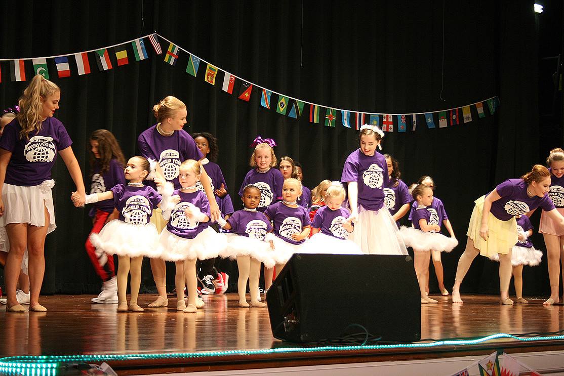 ALL AGES PERFORMED at the event on Saturday, with the tiniest ballerinas following teenage and young adult dancers. A variety of songs were also used to display the variety of cultures that have contributed to dance in general.
