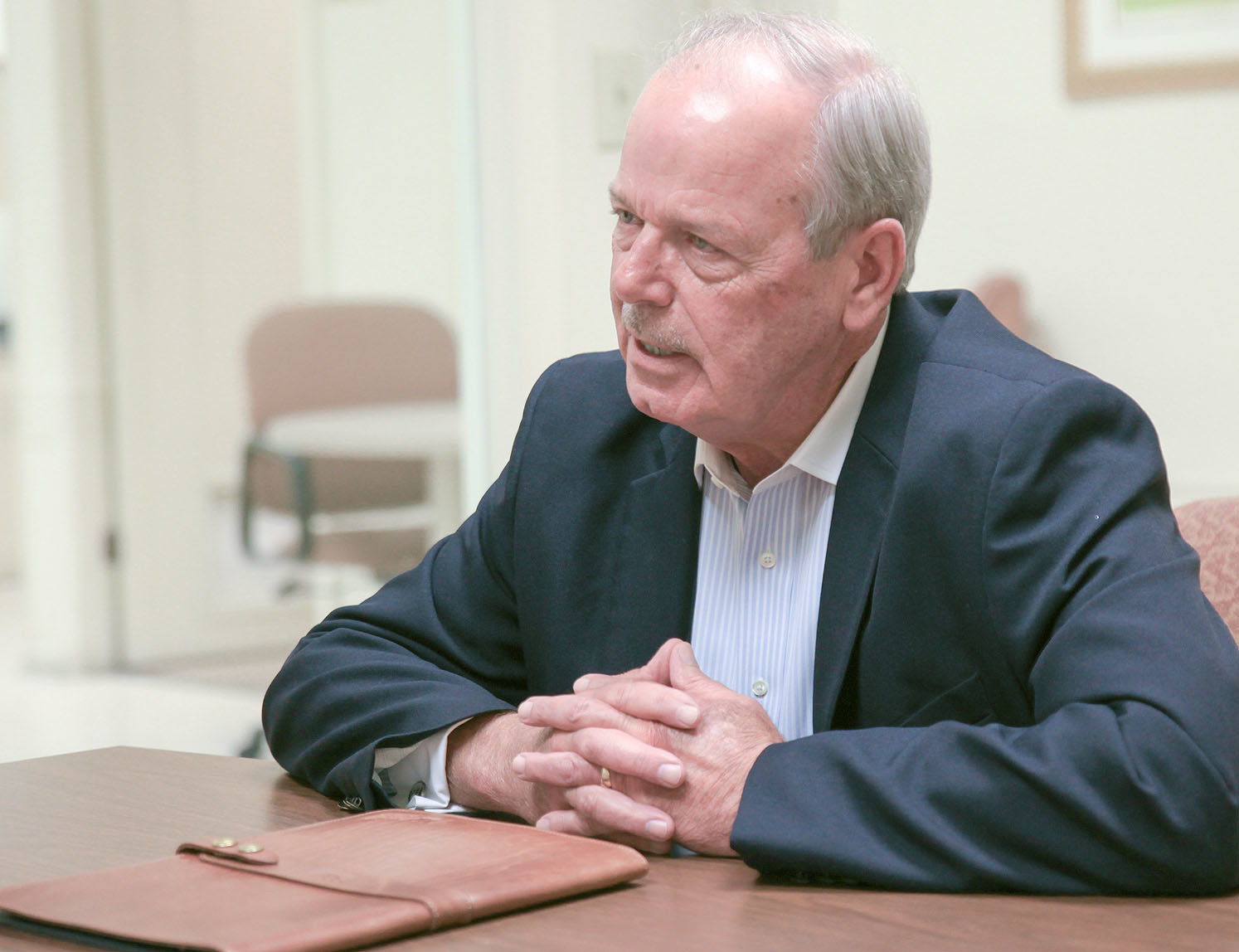 BRADLEY COUNTY SHERIFF-ELECT Steve Lawson discusses his activities since the May 1 election, and his vision for the Bradley County Sheriff's Office. His comments came during a recent one-on-one interview with the Cleveland Daily Banner.