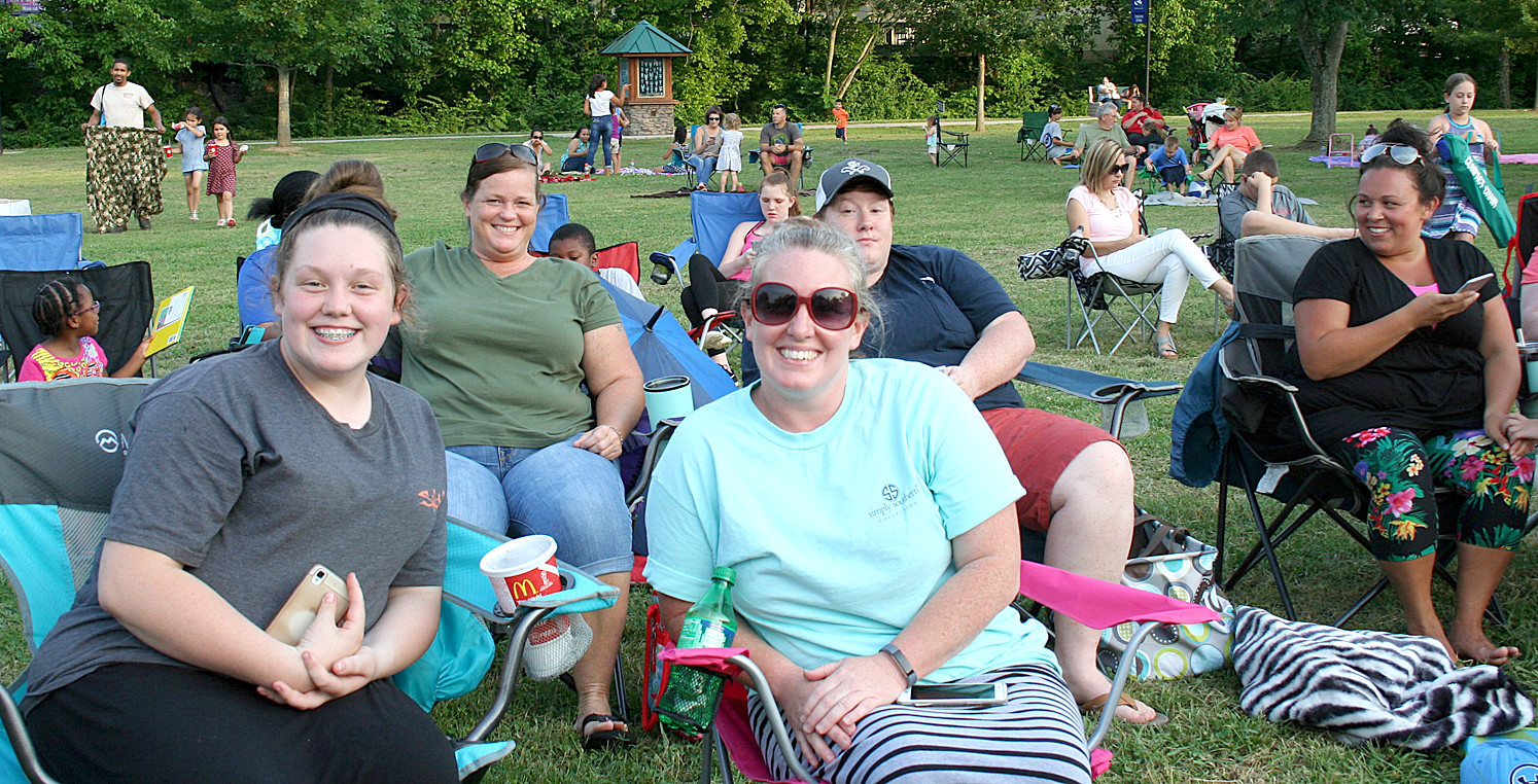 "ANOTHER BIG CROWD showed up last Saturday night for the ""Movies in the Park"" showing at Greenway Park. This Saturday's show will be ""Home Alone,"" and the evening will feature an ""Ugly T-shirt/Sweater"" contest in tribute to the movie's Christmas theme."