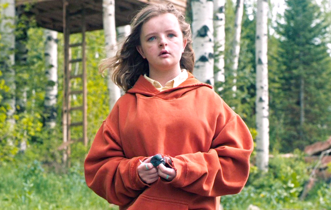 "MILLY SHAPIRO plays the disturbing young character Charlie in ""Hereditary."" In the film, ""Charlie,"" born amid hopes she'd be a boy, was treated as such by her recently deceased grandmother Ellen, whose death is the catalyst for the events of the film."