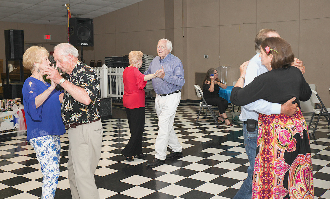 ON THURSDAY NIGHT, The Bradley/Cleveland Senior Activity Center hosted its  Under the Stars event for seniors filled with dancing, music and camaraderie.