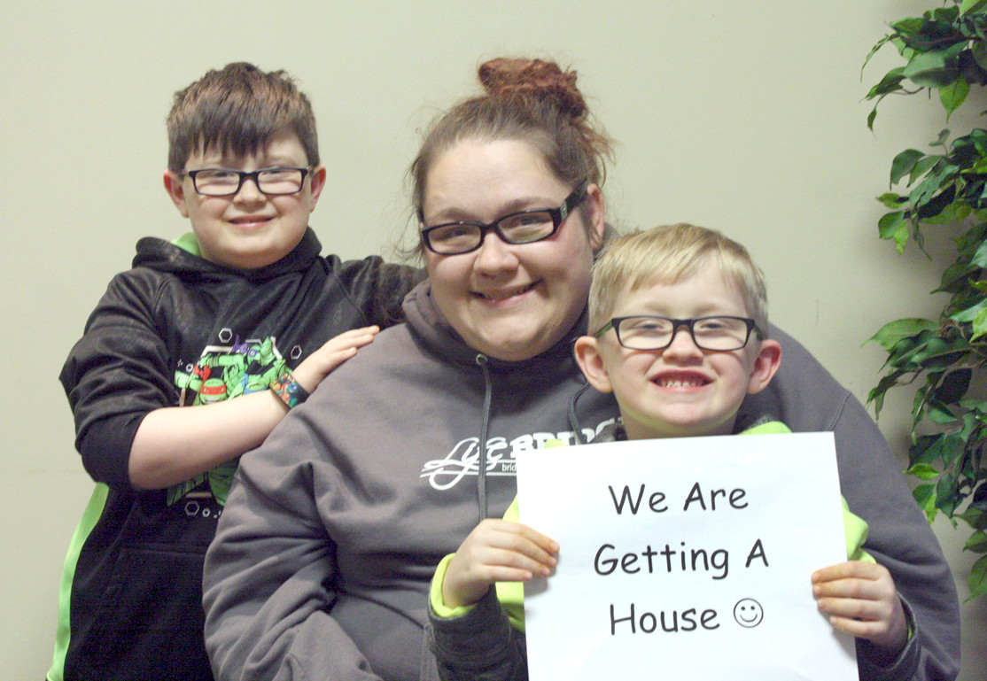 he Kelley family is excited about receiving its brand-new Habitat home. A single mother of two boys, Felicia Kelley has lived with her grandmother Mary for several years in an overcrowded home. She believes that her new Habitat home will be a stable place for her boys to grow up in.