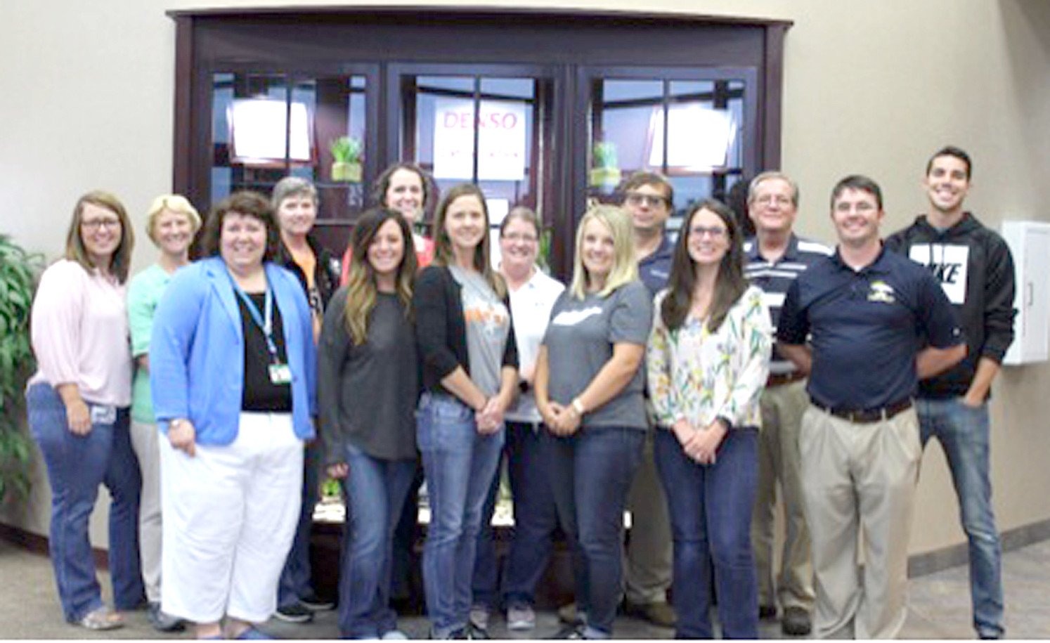 More than 50 DENSO associates and 13 teachers from area schools participated in the four-day Teacher Externship held at DENSO Manufacturing in Athens recently.