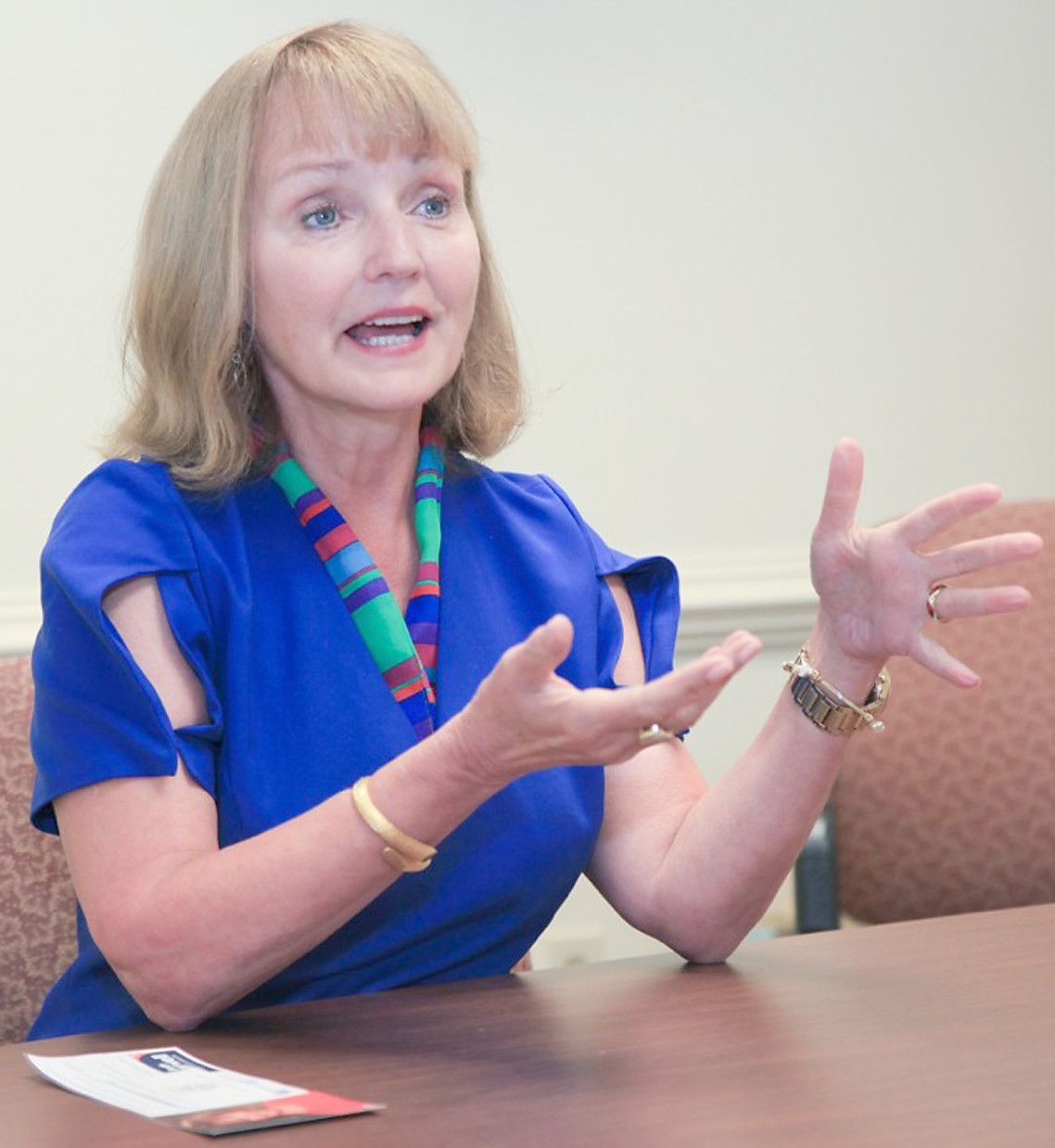 SPEAKER of the House Beth Harwell visited the Cleveland Daily Banner on Tuesday to discuss a variety of topics affecting Tennessee.