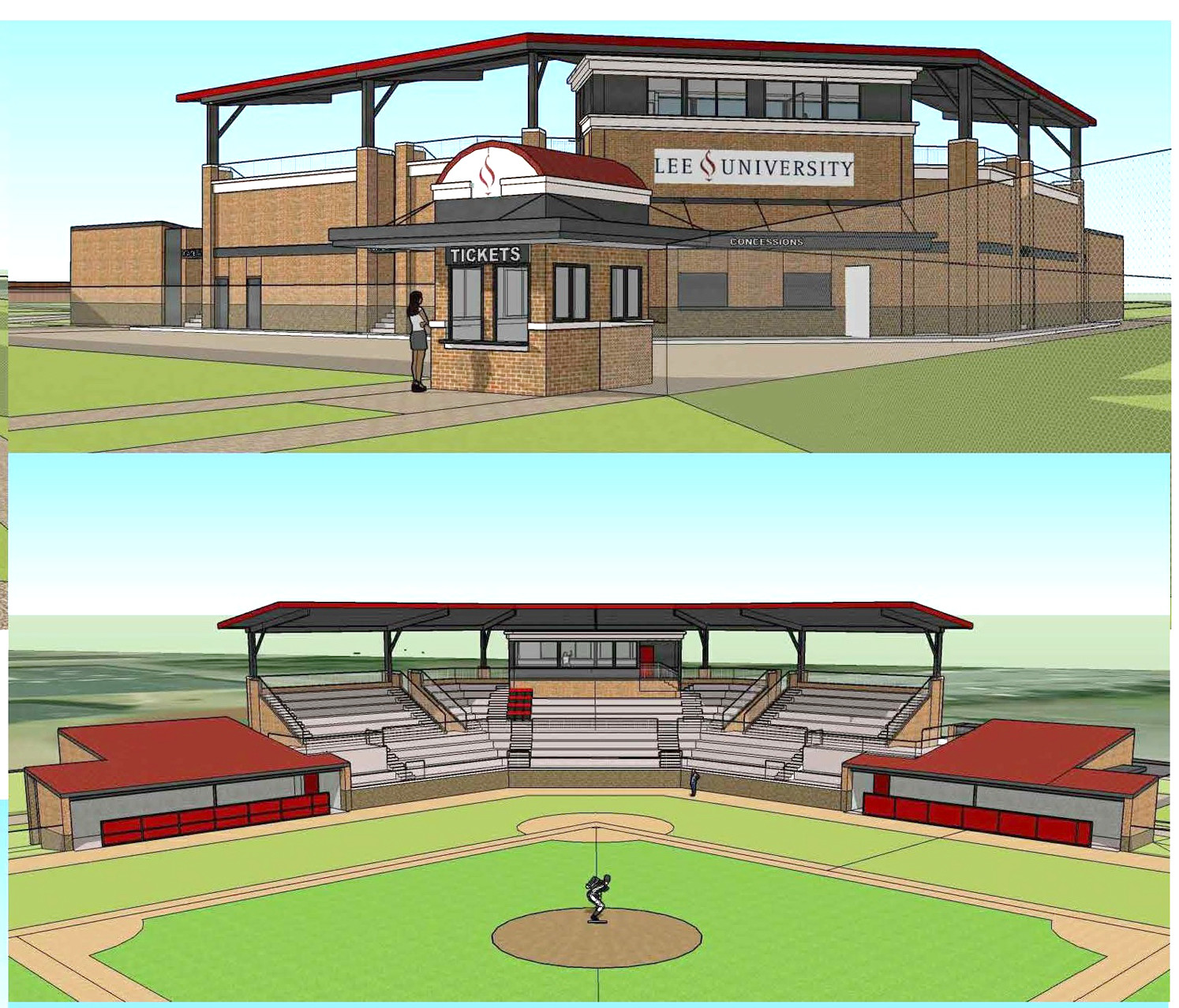 Lee University Baseball >> Lee Baseballers To Get New Stadium The Cleveland Daily Banner