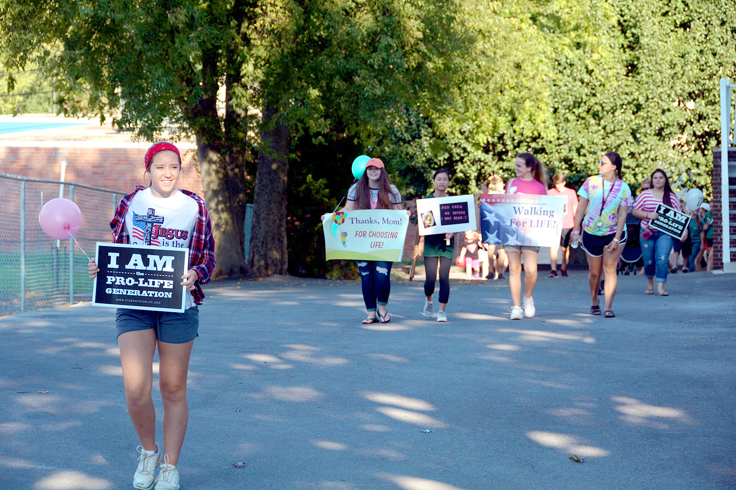 RESIDENTS OF CLEVELAND and beyond participate in 2017's Walk for Life. The event is a fundraiser for New Hope Pregnancy Care Center in Cleveland, and also an awareness campaign for the pro-life organization.