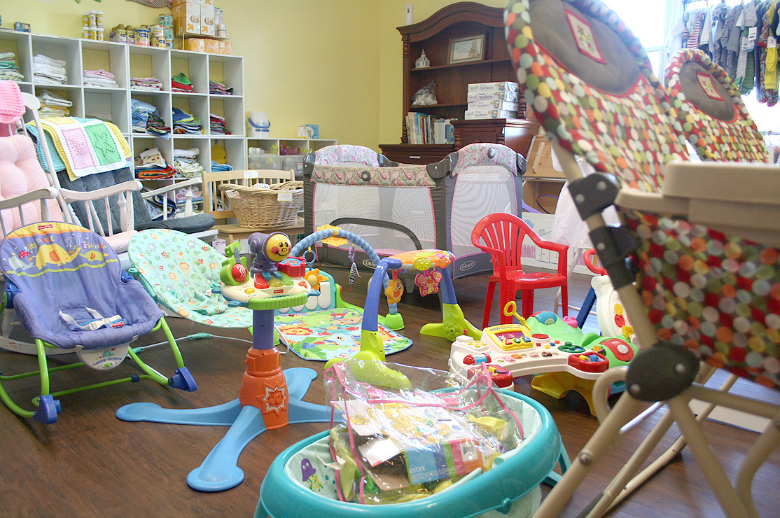 THE HOPE CHEST at New Hope Pregnancy Care Center is filled with toys and items needed for new babies. New parents who need a few extra toys for their children will find them in the Hope Chest.