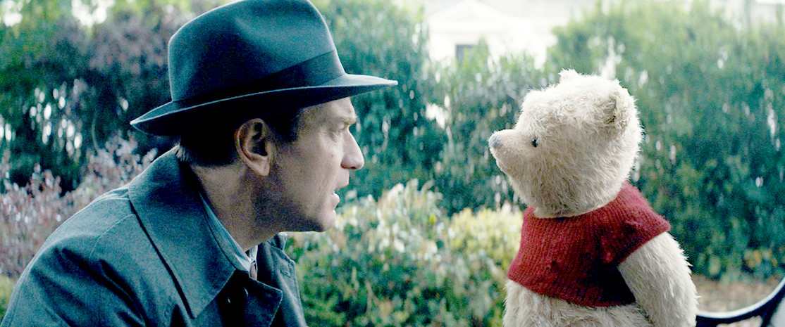 EWAN McGREGOR plays an adult version of the beloved character Christopher Robin in the film of the same name. Robin is surprised to see his longtime friend, Winnie the Pooh, at his house in London. Apart from Pooh, all the residents of the Hundred Acre Wood return for a nostalgic and genuine film with numerous messages.