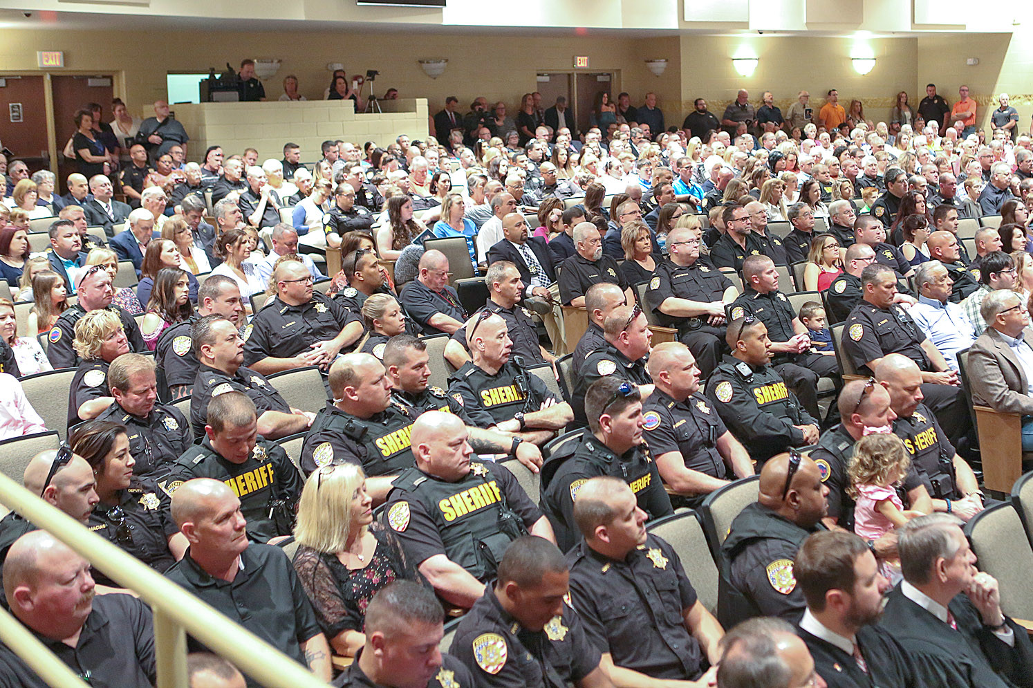 THE BCSO SWEARING-IN Ceremony was a packed-house event on Saturday.