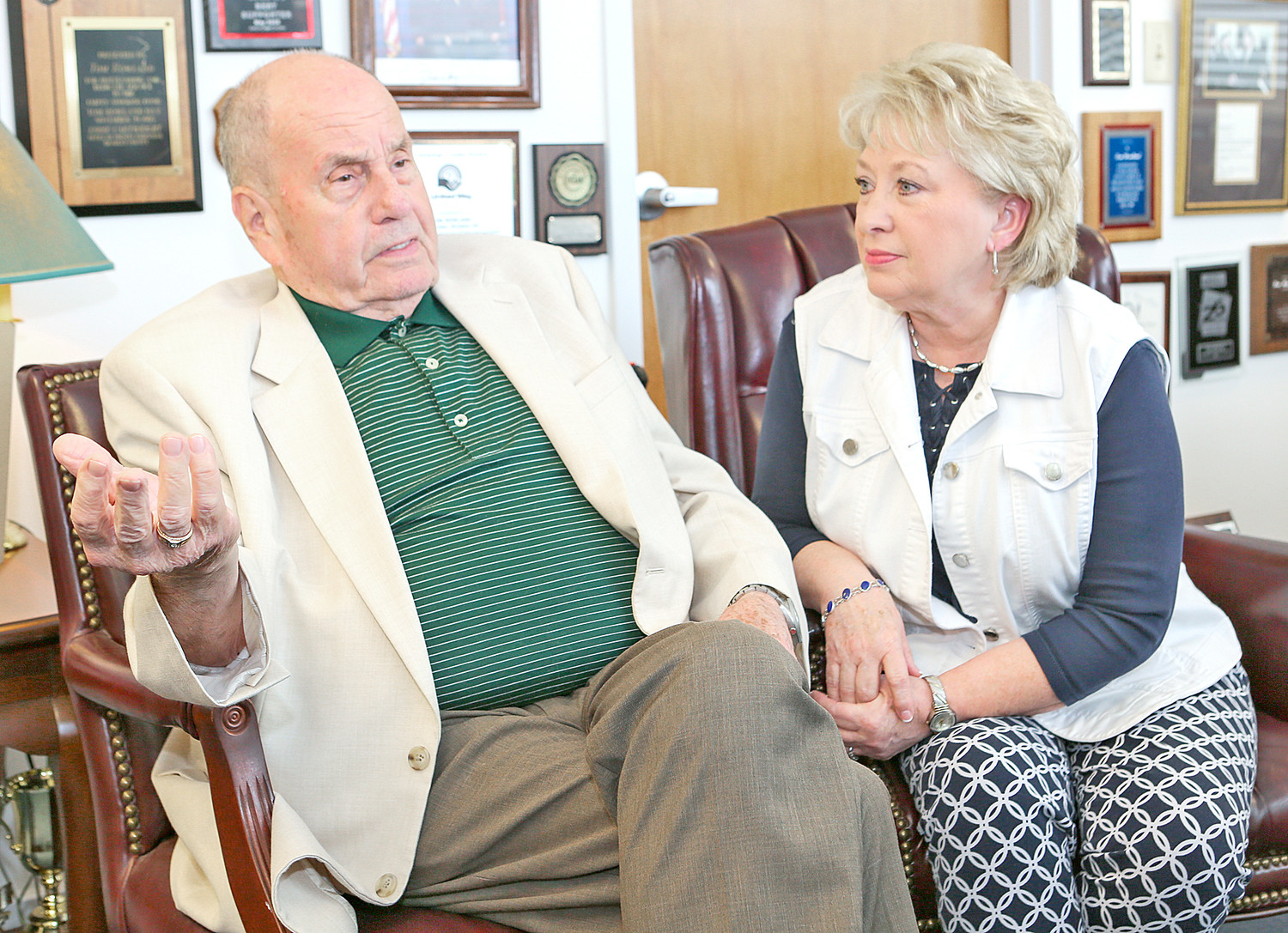 MAYOR TOM ROWLAND and First Lady Sandra, who are entering their final days as Cleveland's first family, recently sat down with the Cleveland Daily Banner to discuss what Mayor-elect Kevin Brooks, and new First Lady Kim, can expect once they take office at City Hall.