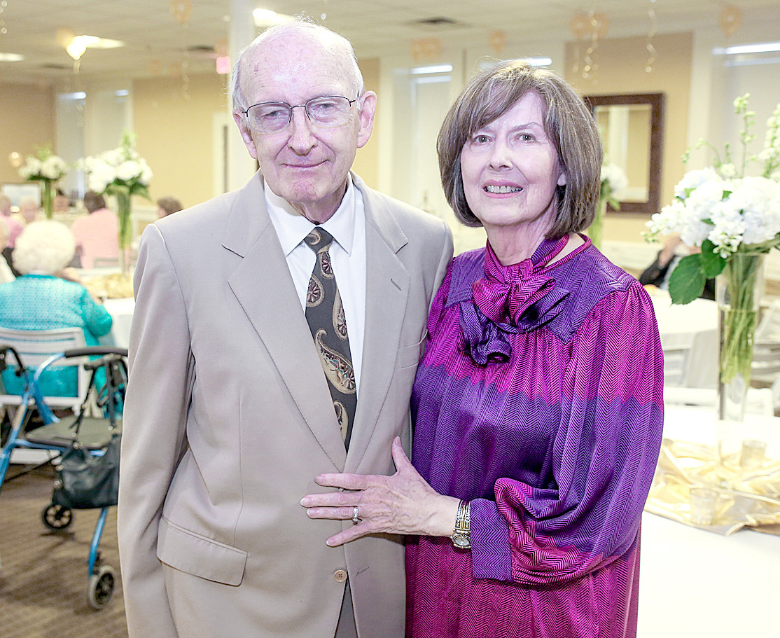 JERRY AND LORRAINE WOOLEY celebrated 50 years of marriage on Sept. 7. 