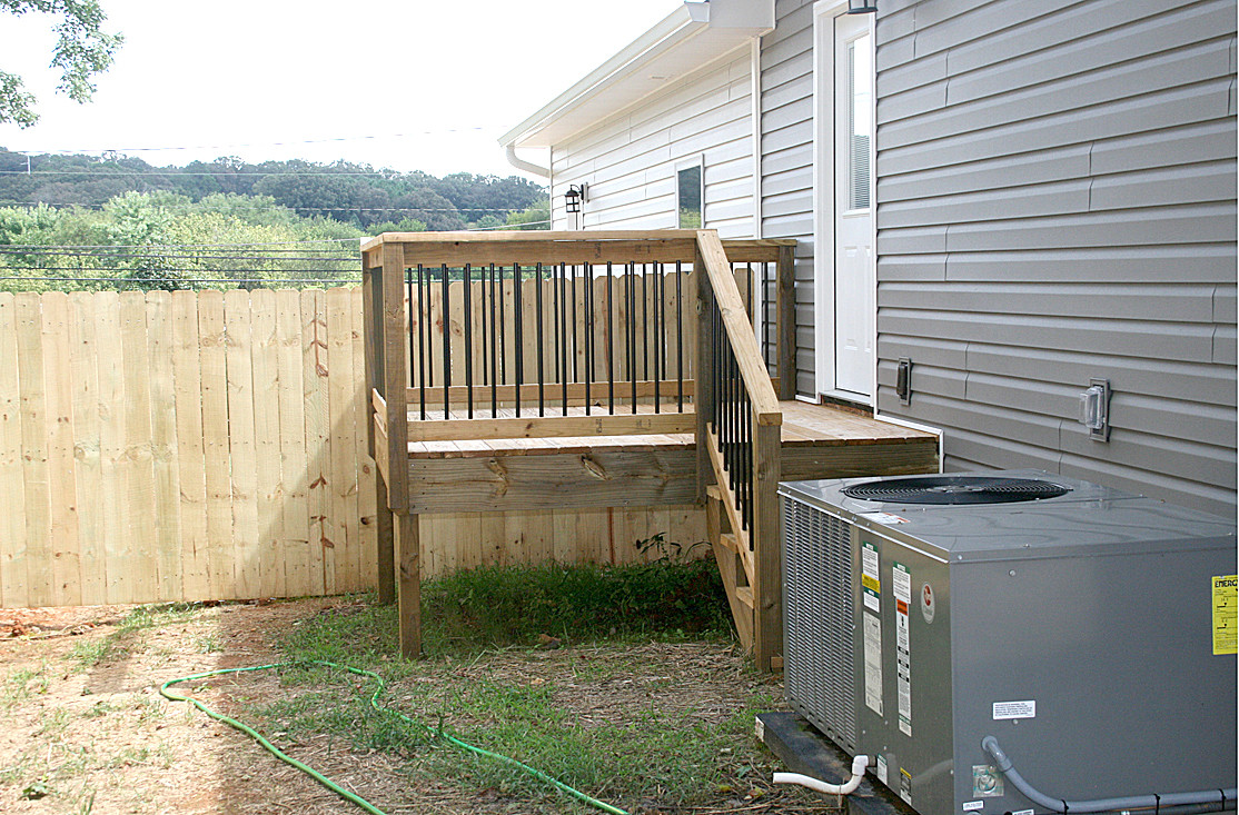 FENCING is offered for both the side and back of each townhouse, to ensure privacy.