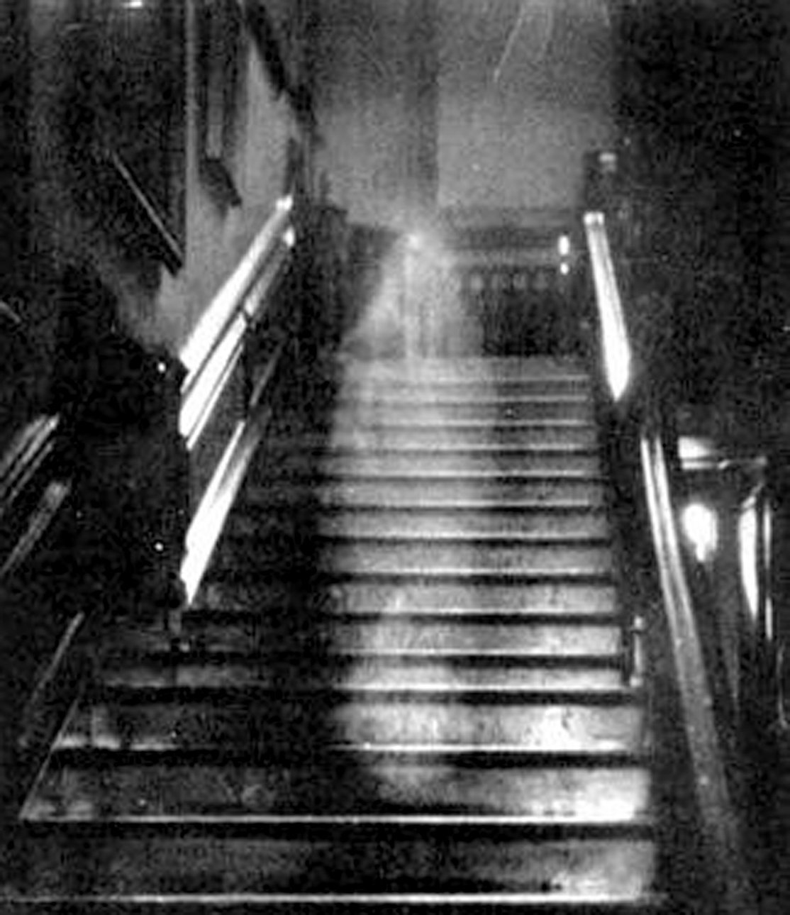 THIS IMAGE was taken in Raynham Hall, an estate located in Norfolk, England, of what's known as the Brown Lady. A similar spirit is rumored to haunt one of Cleveland's oldest businesses, Stamper's Furniture.