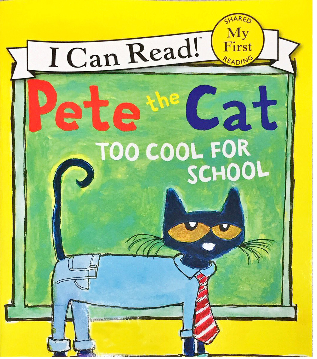 "The Read with a Raider first book was ""Pete the Cat."""