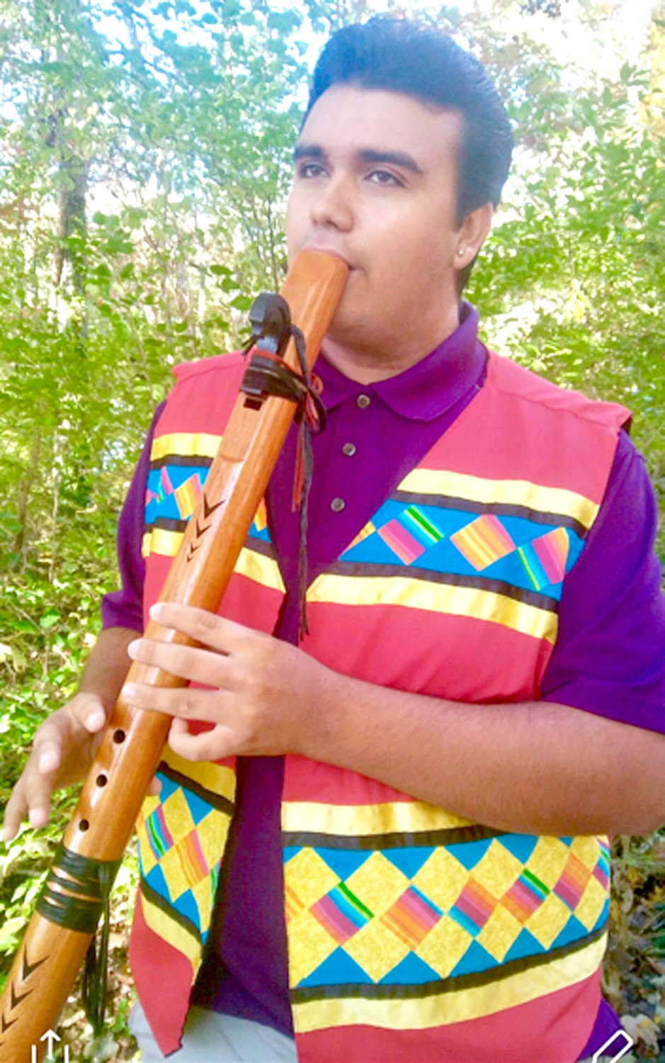 KYLE COATNEY from Knoxville will be providing native music for the commemorative Trail of Tears walk that will be held Saturday at 11 a.m. at Blythe's Ferry Cherokee Removal Park in Birchwood. The public is invited to attend.
