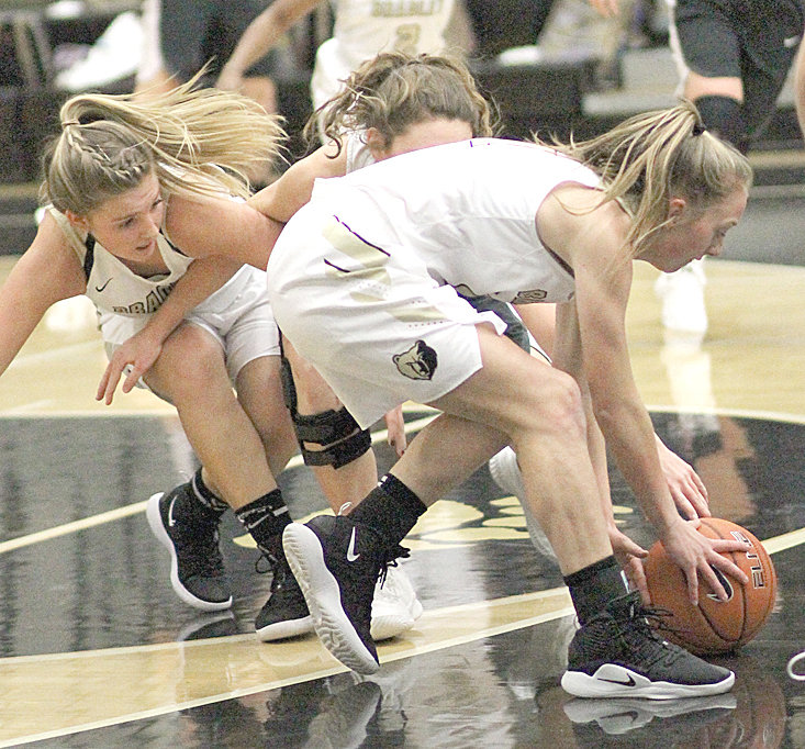 THE ACTION will be fast and furious this weekend as 15 teams from across the state converge on Bradley Central and East Hamilton high schools for the second annual East/West Classic. Bearettes Cambree Mayo (front) and Kaleigh Hughes (left) will be in the thick of the battles.