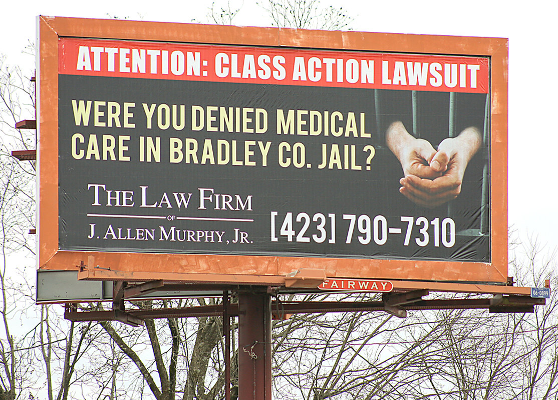 Lawyer uses billboards to connect with possible class-action