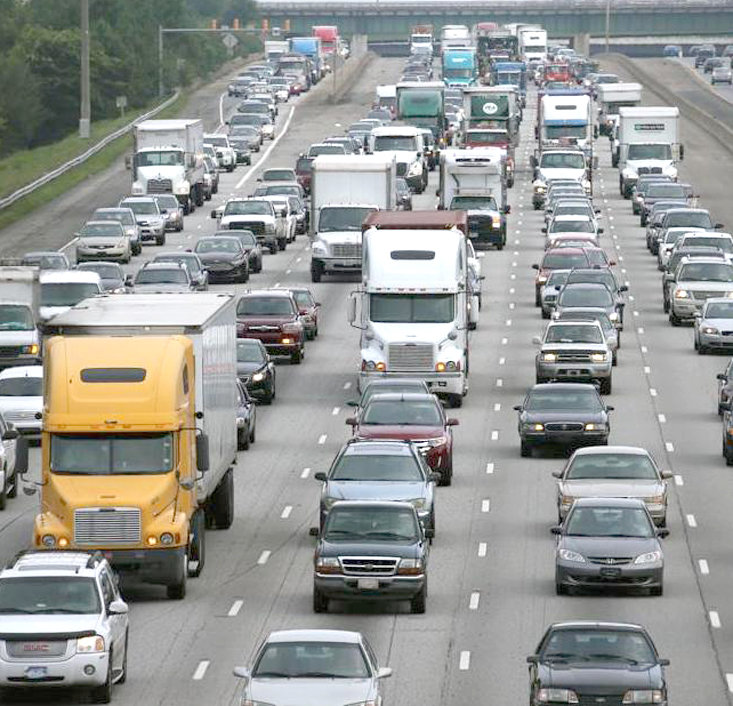this 2014 file photo from atlanta shows what motorists could be headed for again this year