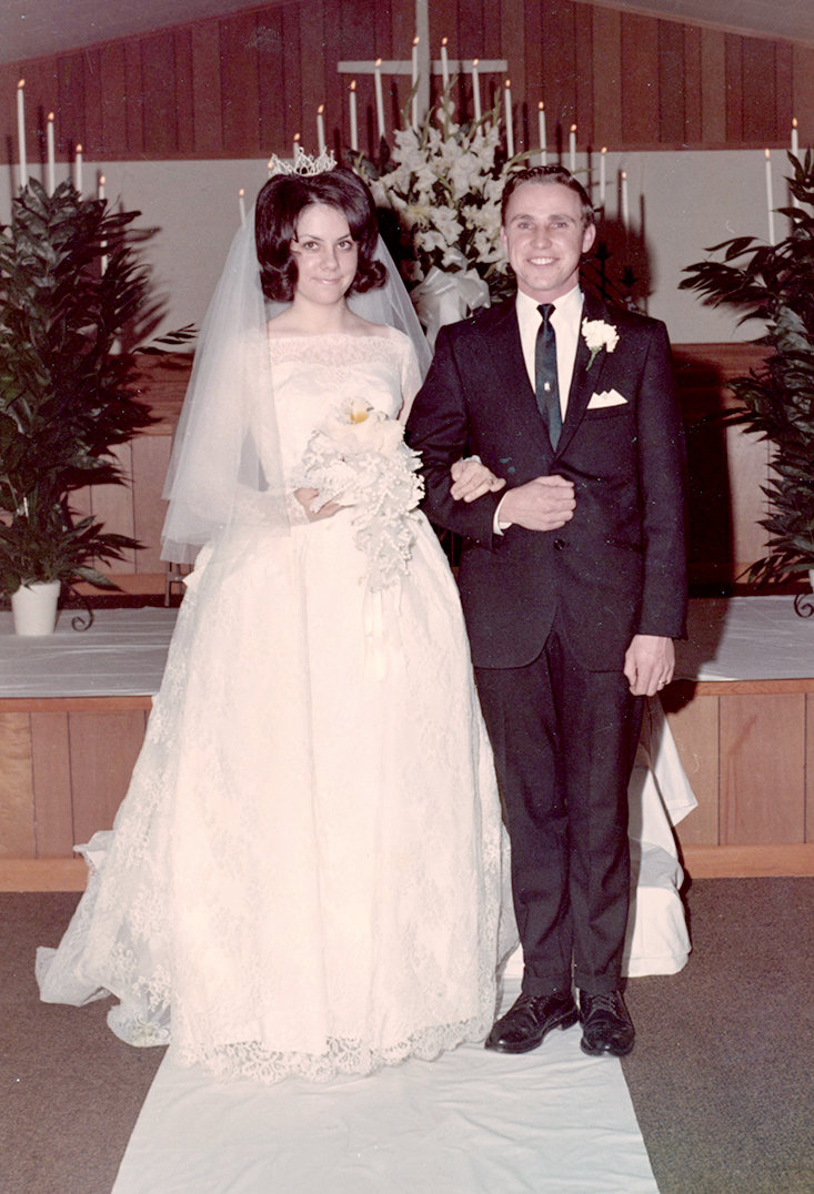 BOBBY AND MARY DALE celebrated their 50th wedding anniversary Thursday. They were married on Dec. 27, 1968. They are the parents of Chris Dale, Amy Lindsey and Melanie Lawson. They are the grandparents of Beau and Julia Lindsey and step-grandparents of Layne and Lauryn Lawson.