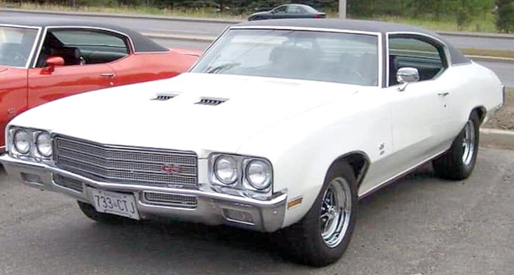 THIS STOCK PHOTO is representative of a white 1971 Buick Gran Sport that was stolen in late December or early January in Cleveland. The Cleveland Police Department is encouraging anyone to contact them regarding any knowledge of the vehicle's whereabouts. Anyone with information may leave a confidential tip through the CPD's Facebook page or by contacting Set. Kody Fox at 423-559-3377.