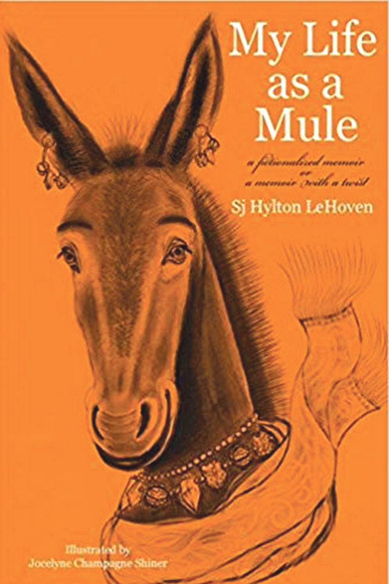 "NATIVE EAST TENNESSEAN ""Sj"" Hylton LeHoven will read from her first work of fiction, ""My Life As A Mule,"" at the E.G. Fisher Public Library in Athens on Thursday."