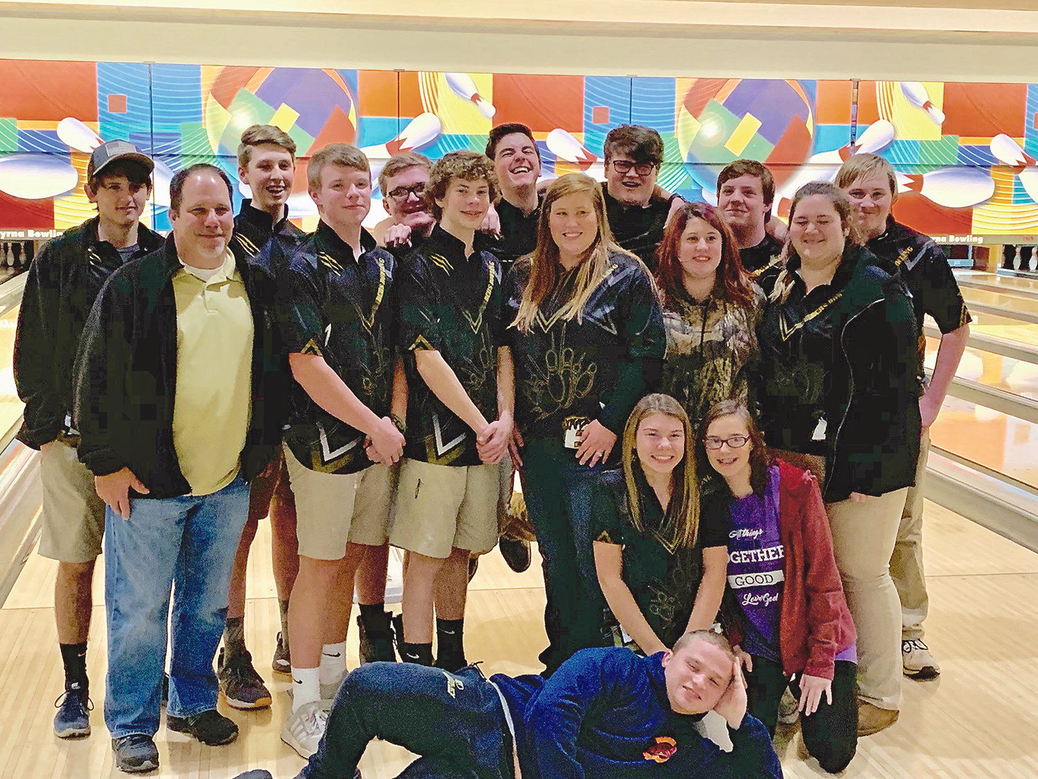 BRADLEY CENTRAL'S bowling teams made the trek to Smyrna together on Saturday, to play in the TSSAA Sectional playoffs. The Bears wrapped up a 20-2 season while the Bearettes finished 10-8.