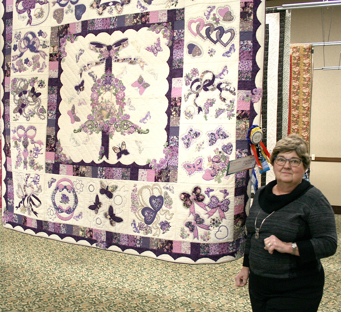 Quilt Show Kicks Off Stitches In Time Exhibit For February The Cleveland Daily Banner