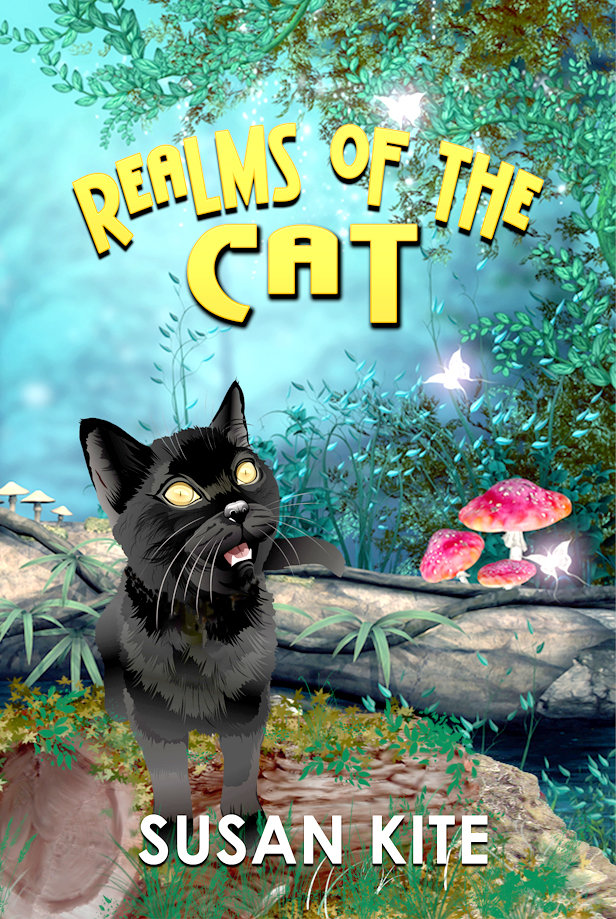 "THE NEWEST BOOK written by Susan Kite is titled ""Realms of the Cat,"" and centers on the adventures of Kite's very own cat, T.B., and his animal friends. Kite is also currently working on and editing various other works yet to be published."