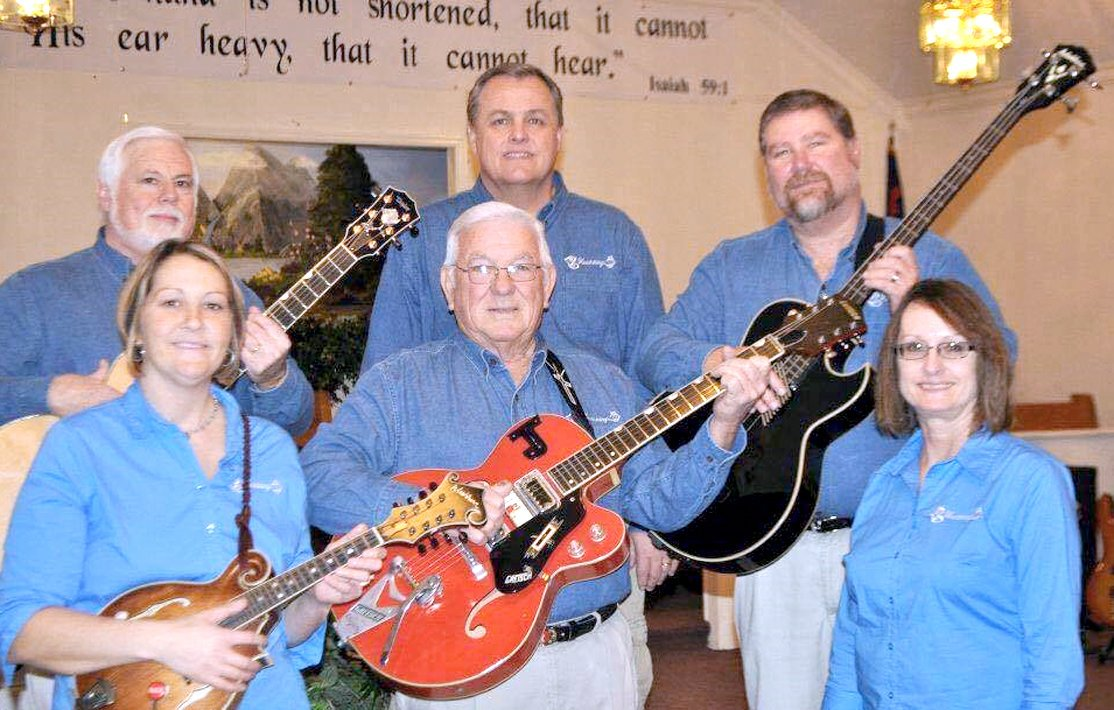 HEARTSTRINGS will sing Feb. 24, 11 a.m., at the Four Point Baptist Church, 3501 Old Tasso Road N.E., according to Pastor Shane Pierce.