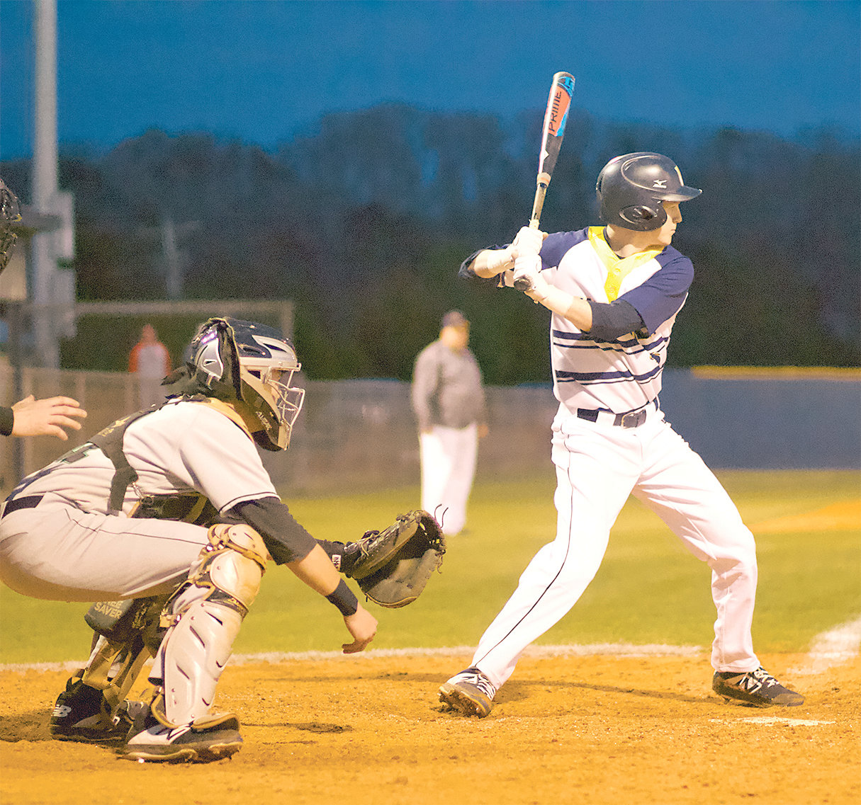WALKER VALLEY batter Jordan Munck gets ready at the plate during Wednesday's District 5-AAA tussle with East Hamilton at Mike Turner Field.