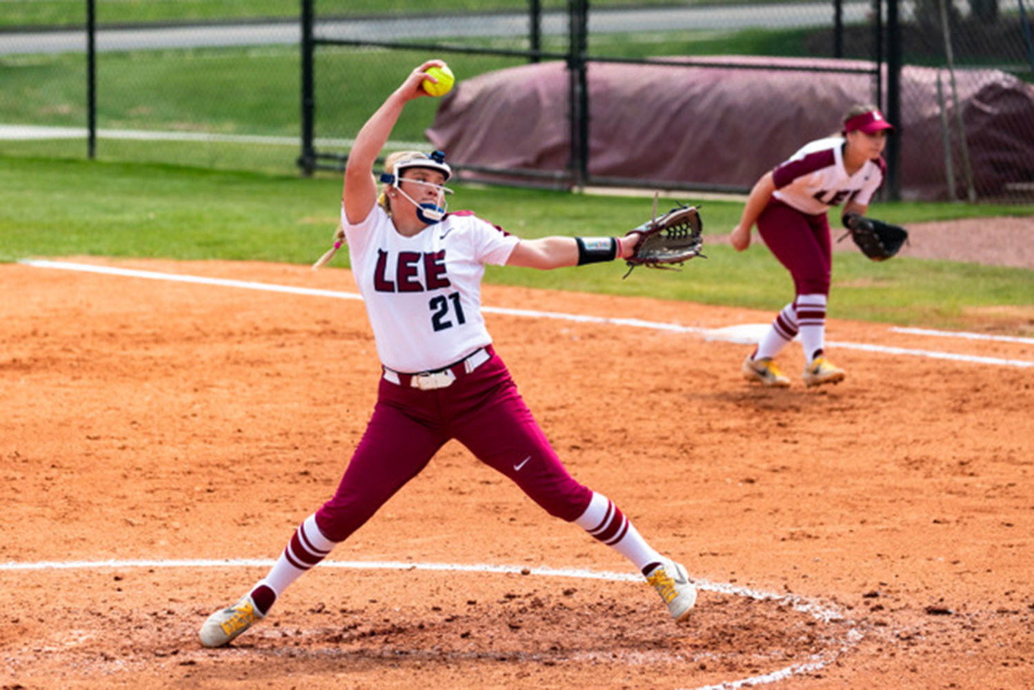 Shonna Penney earned the win in relief on Sunday for the Lady Flames.