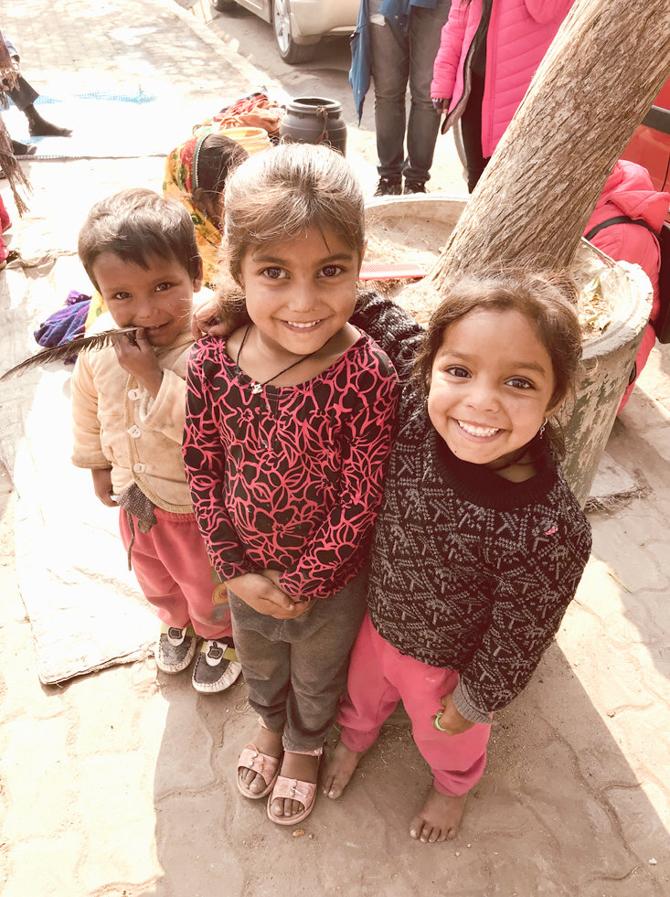 THESE CHILDREN were just some of the many curious Nepalese locals who were intrigued by the YWAM mission team with whom Cleveland-native Emily Ogle served.