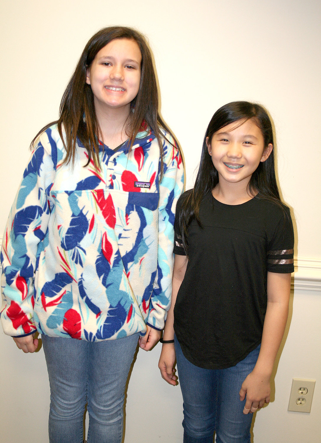 ALLIE STANFIELD and Ellie Lu Fannon, two sixth-graders at Cleveland Middle School, are partnering with Ellie Lu's mom, Emily, to bring awareness of the importance of recycling to Cleveland just in time for Earth Day.
