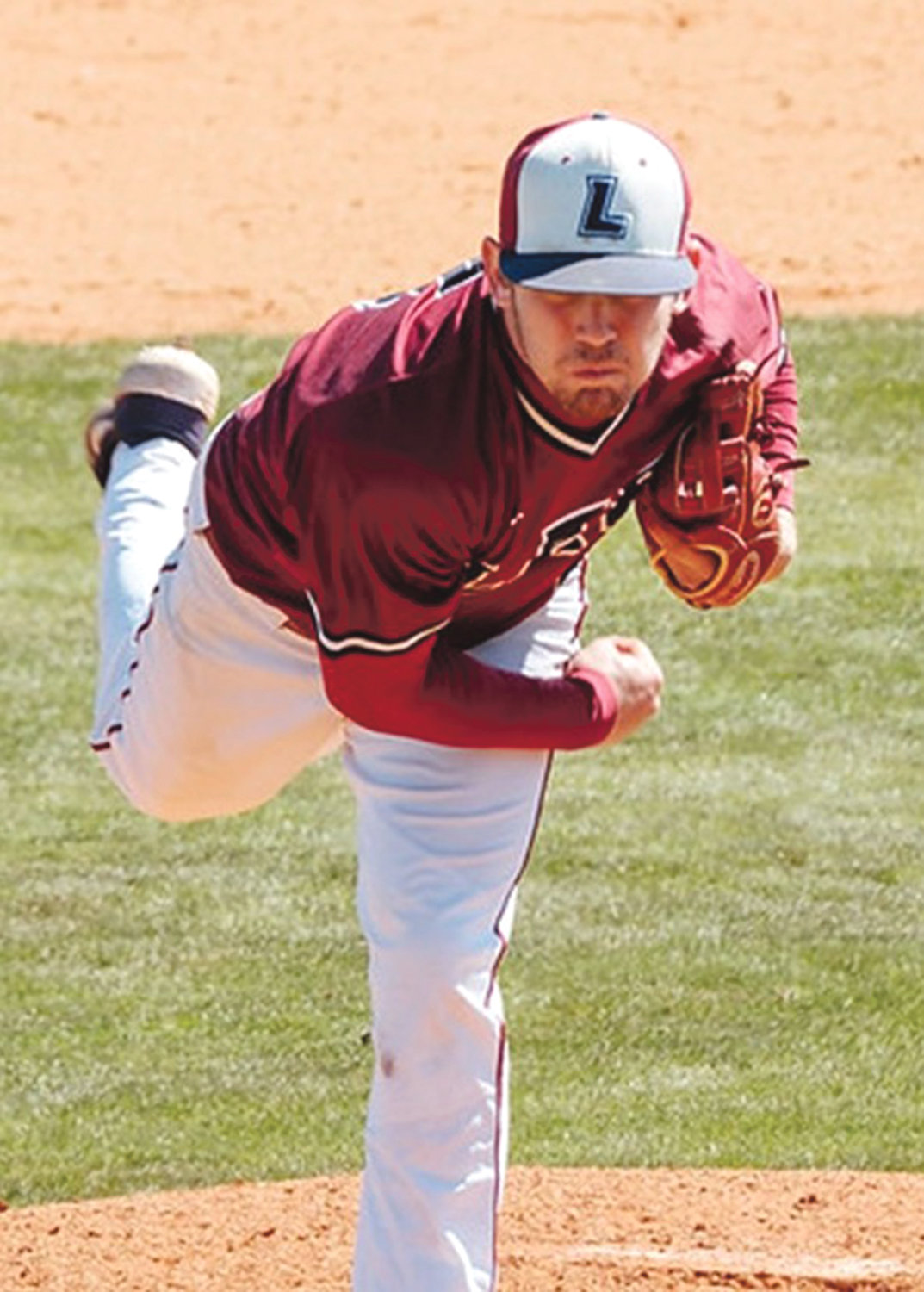 LEE UNIVERSITY'S Thomas Zazzaro earned the save in game one and added four hits on Saturday.