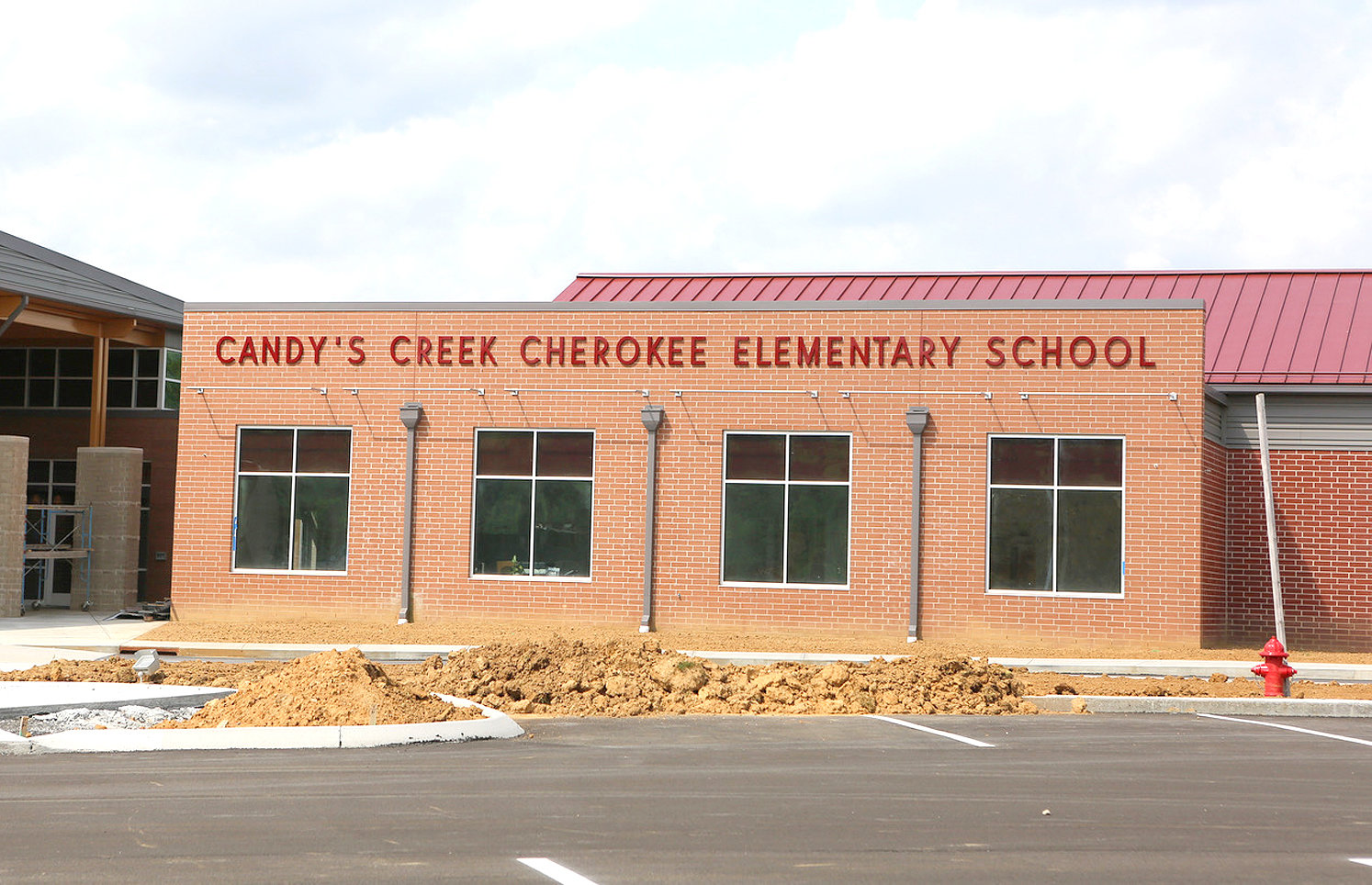"THE SPELLING of the name of Cleveland's newest school — Candy's Creek Cherokee Elementary — has raised eyebrows among those in the community who are used to seeing signs for ""Candies Creek."""