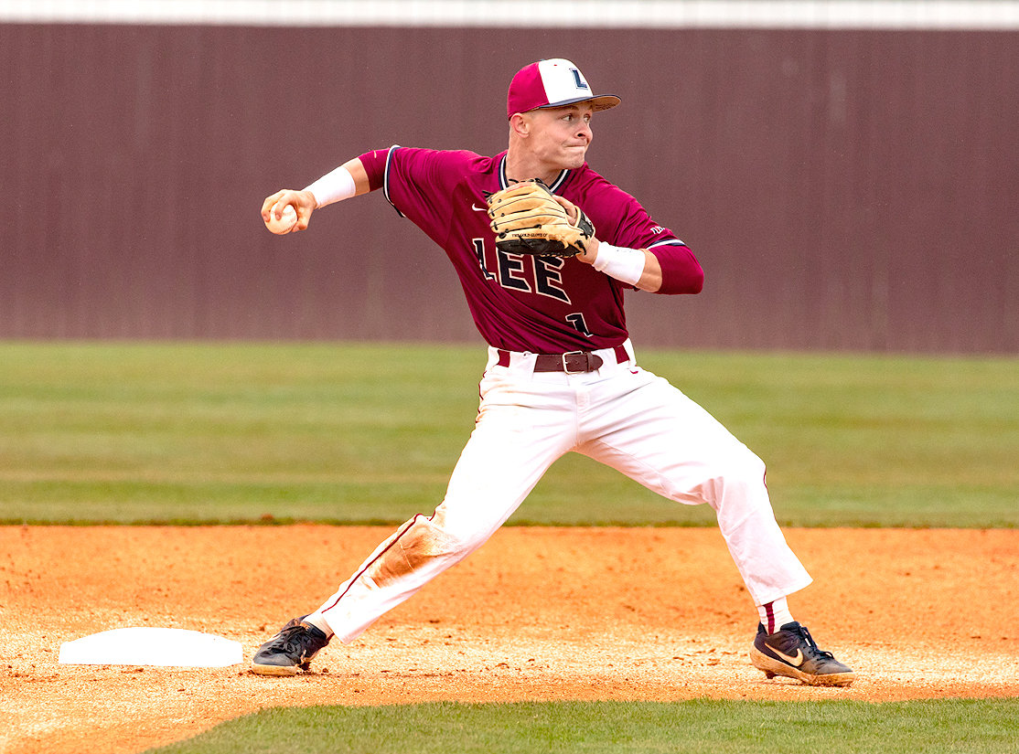 LEE UNIVERSITY senior Tyler Payne played in his final game at Olympic Field on Saturday, going 1-3, with a pair of walks and a RBI in a 16-6 Flames victory over Montevallo (Ala.).