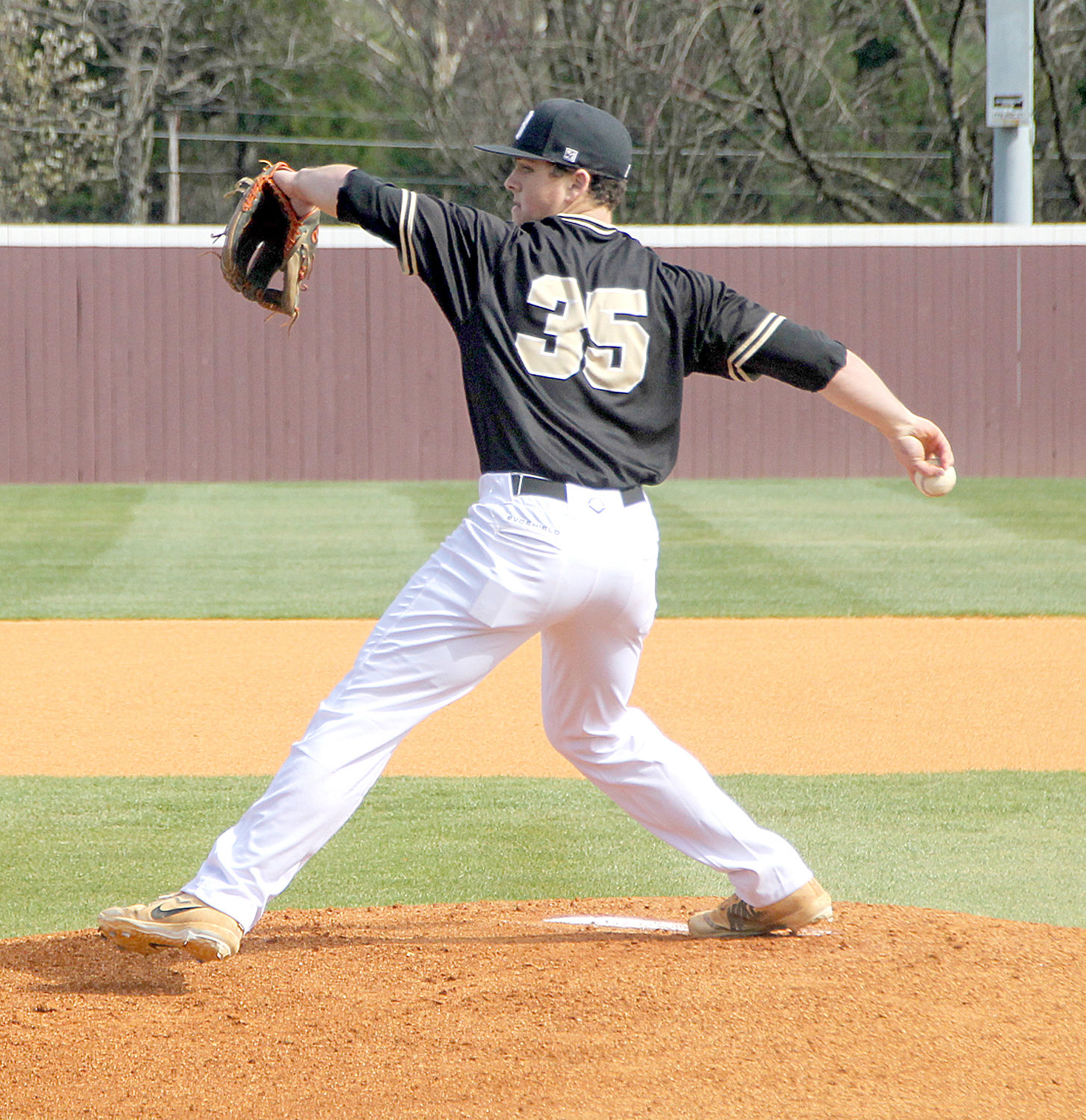 LEE UNIVERSITY commit Riley Black led Bradley Central to its first TSSAA State Tournament victory since 2007 in a 2-1 win over third-ranked Riverdale Tuesday at the Spring Fling opener in Murfreesboro.