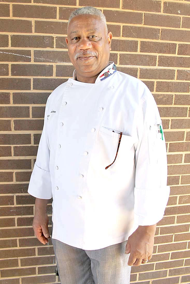 ORIGINALLY FROM CHATTANOOGA, chef LeMont Johnson is retiring at age 66 after serving in numerous positions, including his most recent role as chef and instructor at Bradley Central for five years.