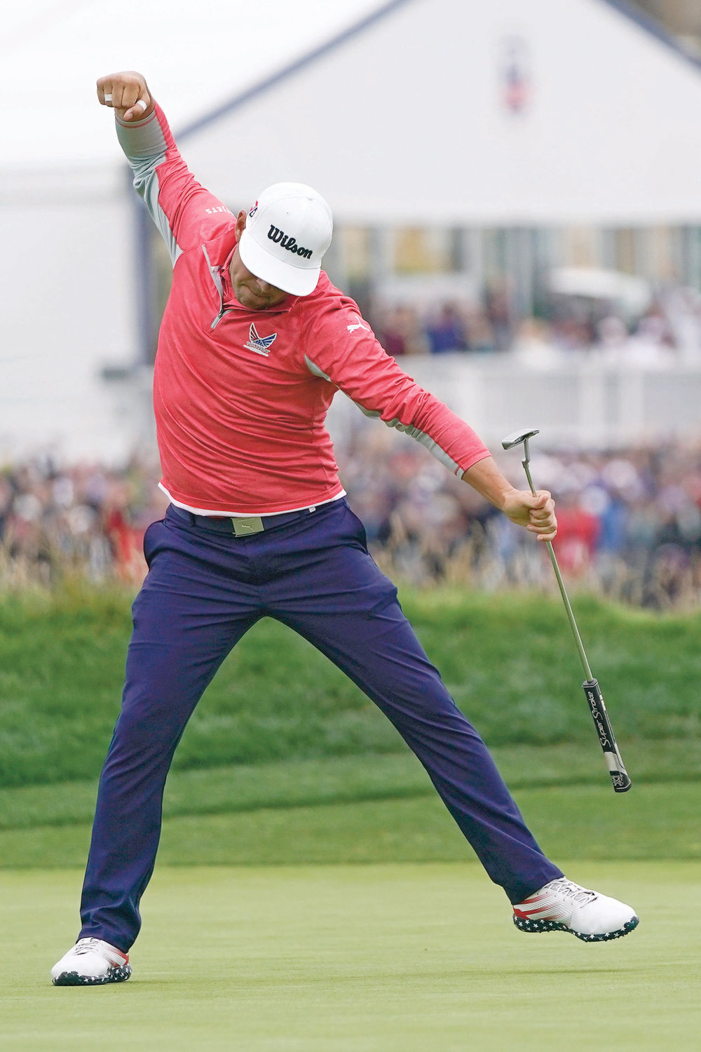 Woodland holds on for US Open win | The Cleveland Daily Banner