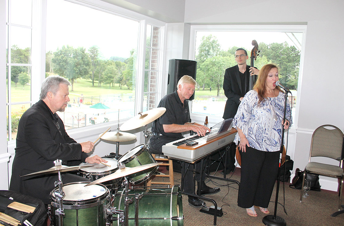 A JAZZ BAND serenaded the guests at the Museum Center at 5ive Points' Ocoee Society event held at the Cleveland Country Club on Thursday evening.