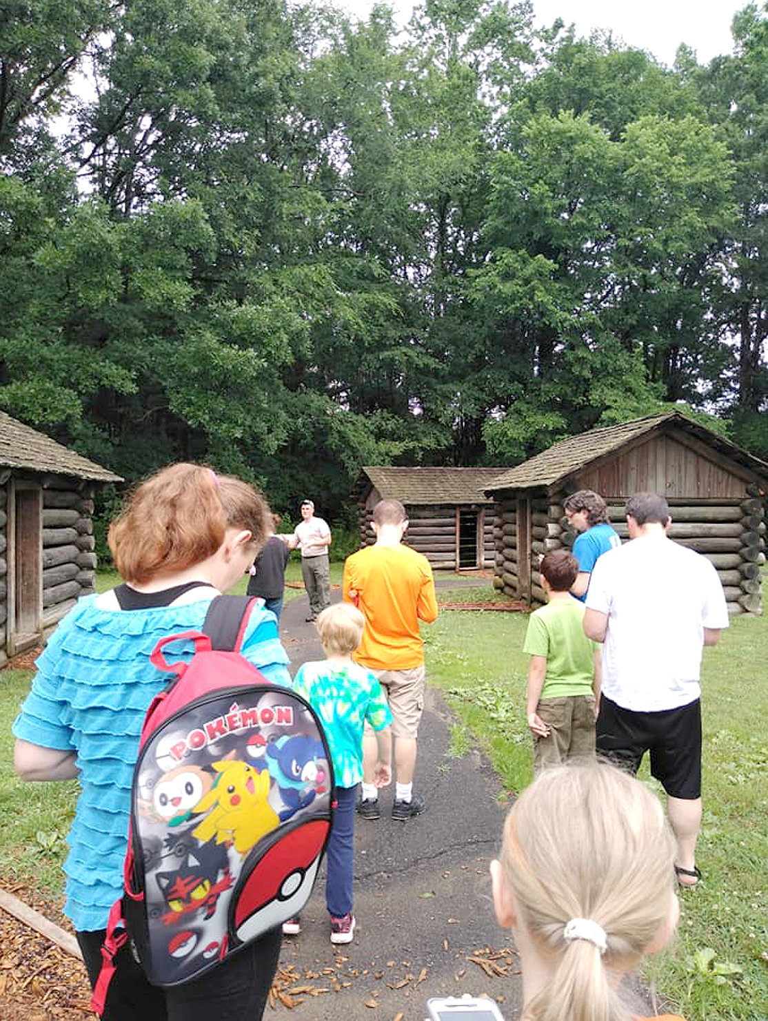 DESPITE A DOWNPOUR, a group of around 11-12 people came for the Red Clay historical tour and Pokemon Go Community Day at the park on June 8. In addition to the tour group, around 20 others came exclusively for the nine Poke-stops and three Pokemon gyms complete with lures present at Red Clay.