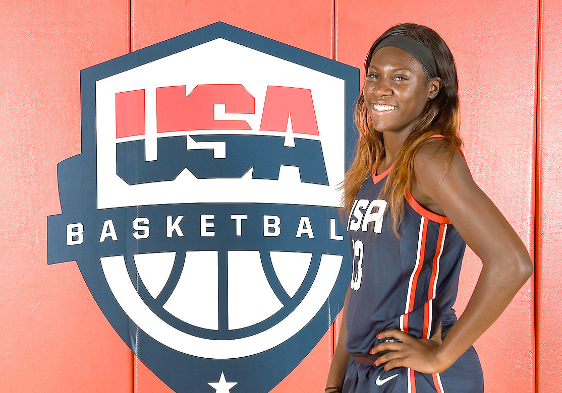FORMER BRADLEY CENTRAL Bearette Rhyne Howard will be playing for the USA U19 World Cup Team that will take to the court later this month in Bangkok, Thailand.