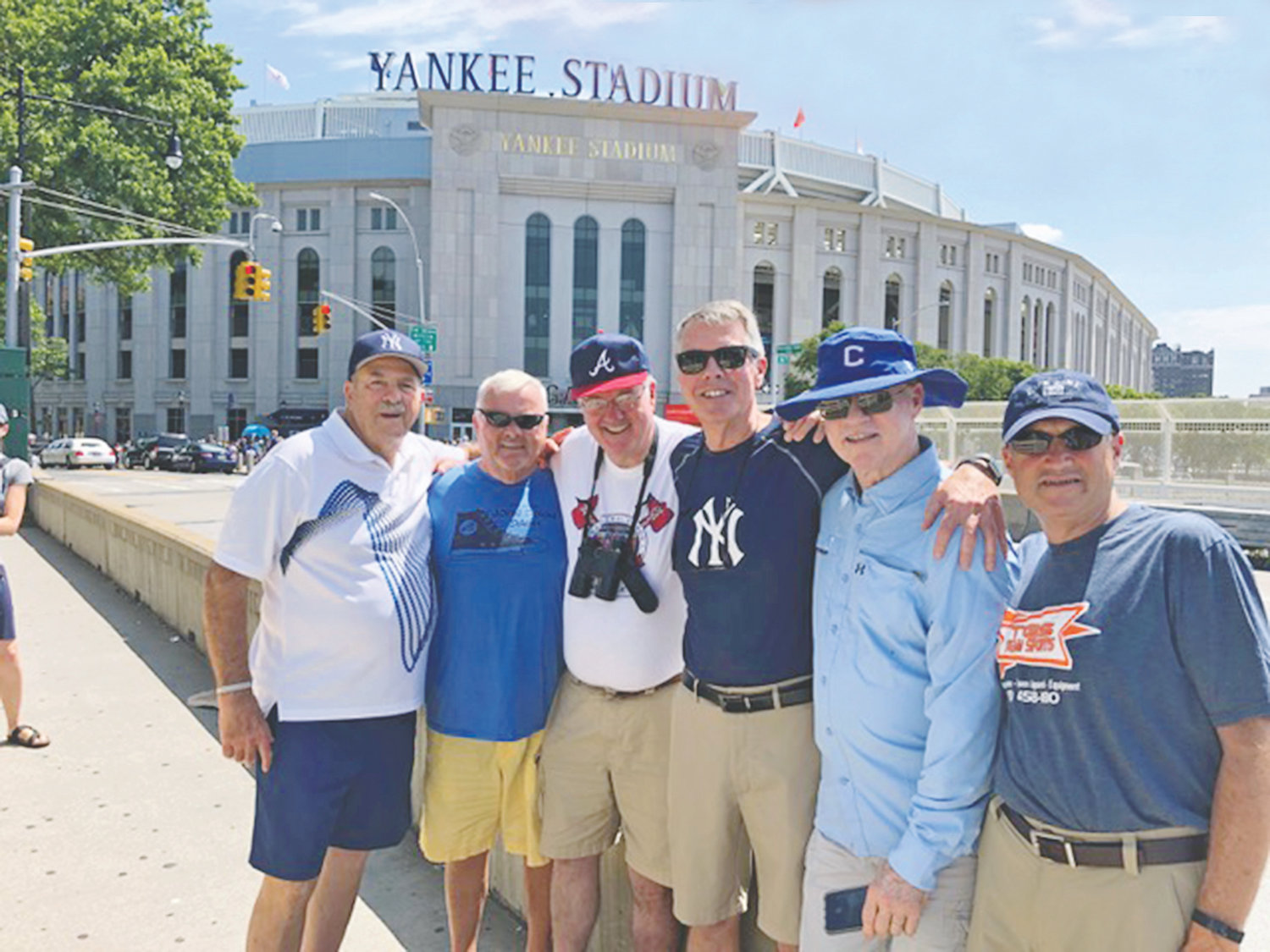 FORMER LOCAL coaches Dave Altopp, John Dixon, David Chaffin, Charlie Cogdill, Donnie Yates and Tim Rader are in the midst of their seventh annual trip to Major League Baseball stadiums.