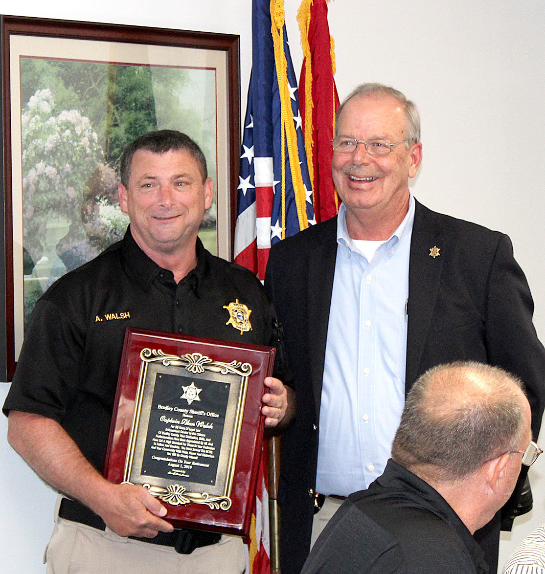 Alan Walsh retires from BCSO after 36 years service | The