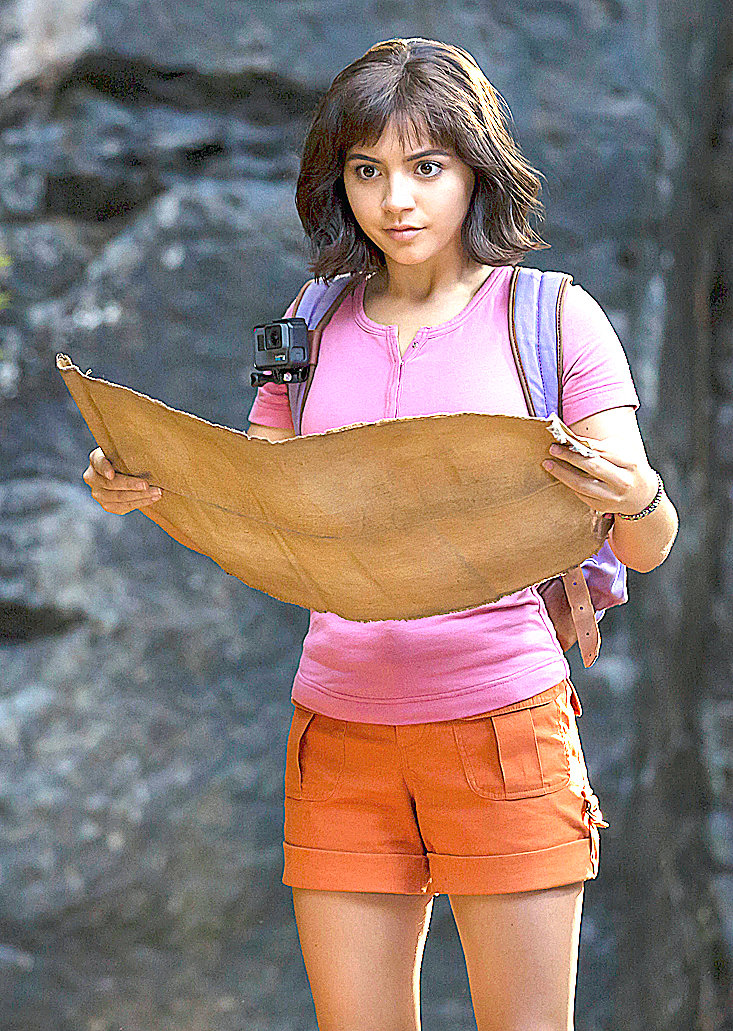 Review Dora Prevails Over Plot Pitfalls By Projecting